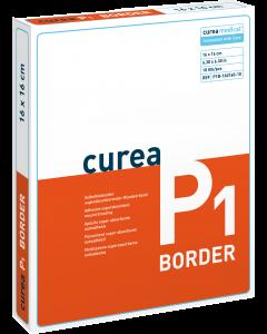 Curea P1 SuperCore® wondverband met border steriel